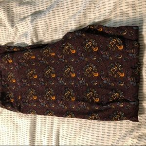 New without tags TC fall print leggings